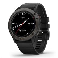 Garmin fénix 6X Sapphire GrayDLC, Black Band (MAP/Music) 51mm