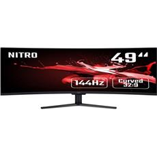 Monitor Acer Nitro EI491CRP - 49'', VA, 4K@144Hz, 4ms, 400cd/m2, 32:9, HDMI, DP, FreeSync, Repro