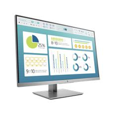 HP EliteDisplay E273, 27, 1920x1080, IPS/LED, 250 cd/m2, 1000:1, 5 ms g/g, pivot, VGA/DP/HDMI, 3y