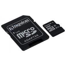 Kingston 8GB microSDHC UHS-I Industrial Temp + SD adaptér