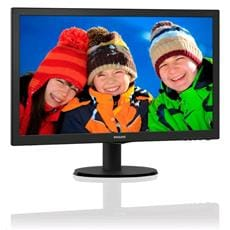 "Monitor Philips 223V5LSB2/10, 21,5"", W-LED, FHD, 10M:1, 200cd, 5ms, VGA, čierna"
