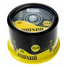 CD-R MAXELL 700MB 52X 50ks/cake