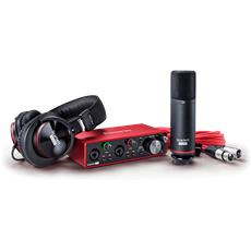 Focusrite Scarlett 2i2 Studio 3rdGen,2-in,2-out USB audio interf.with a cond.microph.and headp.(M)
