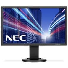Monitor NEC E243WMi, 24'', LED, FullHD, IPS, black