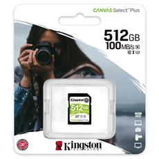 512GB SDXC Kingston Canvas Select Plus U3 V30 CL10 100MB/s