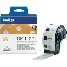 Rolka BROTHER DK11221 Square Labels (1000 ks)