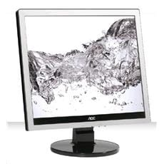 "Monitor AOC E719SDA, 17"" W-LED 5:4, 1280x1024, 20.000.000:1, 250cd, 5ms, VGA/ DVI, repro, Silver/Black texture"